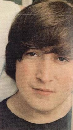 John and his bangs.