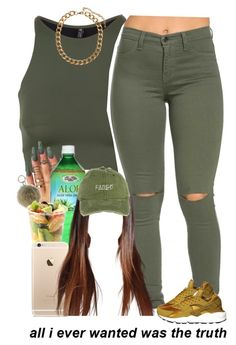 """""""7-15-16"""" by asilversmile ❤ liked on Polyvore featuring Onzie, Alöe, NIKE, Aroma and H&M"""