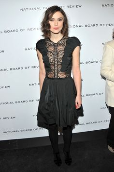Keira Knightley attends the 2011 National Board of Review Awards gala at Cipriani 42nd Street on January 10, 2012 in New York City.