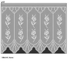 Very nice tablecloth scheme for the living room.    Tablecloth will be quite large, so you will need it      longer knit.    For this...