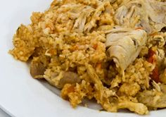Risotto au poulet et au chorizo Risotto Poulet Chorizo, Cooking Chef Gourmet Kenwood, Chef Recipes, Fried Rice, Food And Drink, Chicken, Meat, Ethnic Recipes, Recipes