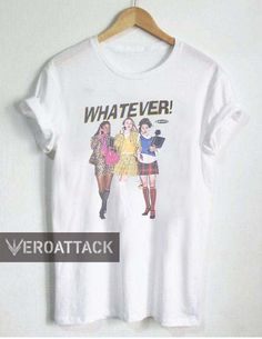 whatever CLUELESS T Shirt Size unisex for men and women Your new tee will be a great gift Funny Shirt Sayings, Funny Tee Shirts, Slogan Tee, Funny Graphic Tees, Graphic Tee Shirts, Cute Summer Outfits, Cute Outfits, 80s Outfit, Shirts
