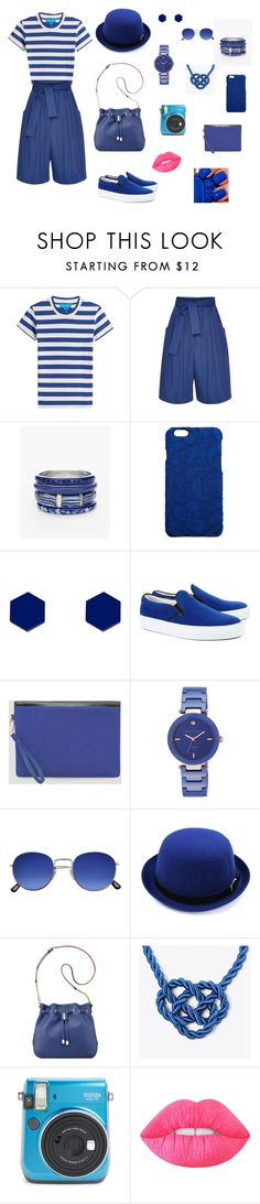 """""""Dark Blue Holiday"""" by erinavincerin on Polyvore featuring M.i.h Jeans, Tome, Chico's, Dolce&Gabbana, Wolf & Moon, Amb Ambassadors of minimalism, Ashley Stewart, Anne Klein, ApreciouZ and Lime Crime"""