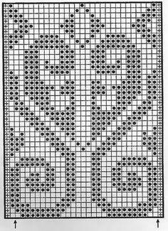 Жаккардовые узоры -2. Схемы | Домохозяйка