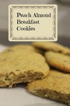 Peach Almond Breakfast Cookies (GF) Well Fed Family