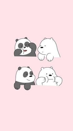 Find the best Kawaii Panda Wallpaper on GetWallpapers. Cute Panda Wallpaper, Cartoon Wallpaper Iphone, Disney Phone Wallpaper, Bear Wallpaper, Kawaii Wallpaper, Cute Wallpaper Backgrounds, We Bare Bears Wallpapers, Panda Wallpapers, Cute Cartoon Wallpapers