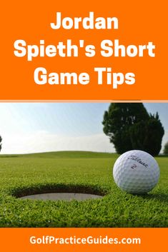 Jordan Spieth shares some key short game tips for chip shots and pitching around the greens. Learn how to hit a low runner that checks up and flop shot. Golf Score, Golf Putting Tips, Golf Practice, Golf Chipping, Golf Videos, Golf Instruction, Golf Exercises, Golf Tips For Beginners, Golf Training