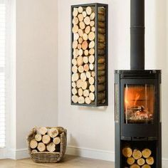 This Harrod Rectangle Steel Log Holder is made from square box section steel and will make your stacked wood into a stunning feature hung on a wall or floor standing, position it vertically or horizontally for an alternative and interesting profle.