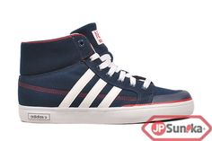 adidas Clemente Fresh Mid  Navy Red  (G52712)