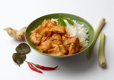 Ever wondered what the difference is between green, red and yellow Thai curry?     Traditionally, all of these curries were made with the same ingredients, the only difference being the colour of chilli used to make the paste. Nowadays, yellow curry includes turmeric which adds to its golden colour, and green curry has been made greener with the inclusion of coriander, lime leaf and Thai basil.