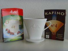 VINTAGE 103 MELITTA COFFEE FILTER CONE PORCELAIN CERAMIC PAPERS MAKER I HOLE