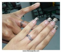ring tattoos for couples - Google Search