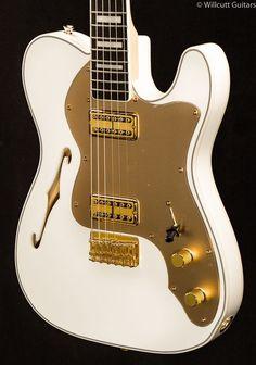 Fender Thinline Super Deluxe Telecaster Olympic White (161) 90de291bf79