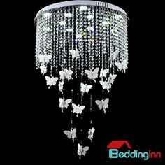 European creative crystal led flush mount Buy link>>>http://urlend.com/vaee2am Live a better life, start with Beddinginn http://www.beddinginn.com/product/European-Style-Elegant-Creative-Angel-Design-Crystal-Remote-Control-Flush-Mount-10964023.html