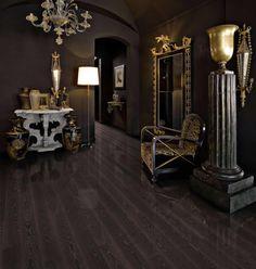 Kahrs Ash Black Copper Engineered Wood Flooring - see also Kahrs Living Coffee Matt sold Wood Flooring - EV