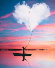 Amazing Photoshop Photography Pictures, Boy with heart Heart In Nature, Heart Art, Cool Pictures, Beautiful Pictures, Beautiful Places, Photos Amoureux, Amazing Photography, Nature Photography, Photoshop Photography