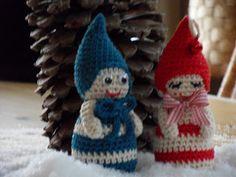 kerstkabouters naar een patroon van sleepy sarah