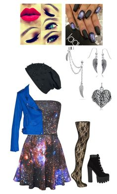"""Galaxy Angel"" by lyrick-rose on Polyvore featuring Jonathan Aston and Bling Jewelry"