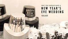 Reasons to Have a NYE Wedding | Photography: Studio EMP. Read More: http://www.insideweddings.com/news/planning-design/10-reasons-to-have-a-new-years-eve-wedding/2689/
