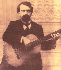 Francisco Tárrega. Introductor de la técnica romántica (inspirándose en buena medida en su maestro J. Arcas).