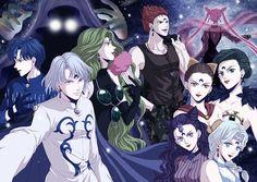 Tags: Anime, Pixiv Id 52175, Bishoujo Senshi Sailor Moon, Ayakashi Cooan, Black Lady, Rubeus, Chibiusa
