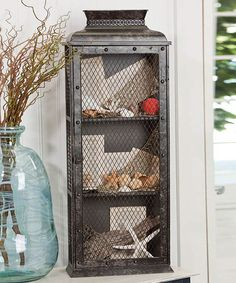 Vintage Metal Cabinet | Daily deals for moms, babies and kids