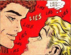 Don Miguel Ruiz's Agreement: Listening & Changing Habits. Jasper Johns, Roy Lichtenstein, Arte Pop, Andy Warhol, Comic Books Art, Comic Art, Richard Hamilton, Vintage Pop Art, Pin Up