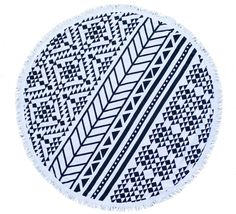 Aztec Towel - The Original 'Roundie' - The Beach People