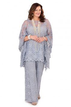 Cheap groom mother, Buy Quality mothers dresses for weddings directly from China groom mother dresses Suppliers: Silver Gray Lace Mother of the Bride Pant Suits Long Sleeves 2017 Three Pieces Formal Plus Size Groom Mother Dresses for Wedding Mother Of The Groom Suits, Mother Of The Bride Plus Size, Mother Of Groom Dresses, Bride Groom Dress, Mothers Dresses, Plus Size Wedding Guest Dresses, Plus Size Dresses, Nice Dresses, Peplum Dresses