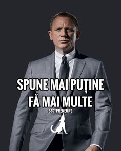 Spune mai putine. Fa mai multe - Citate motivationale Napoleon Hill, Mai, Einstein, Cool Stuff, Movie Posters, Movies, Cool Things, 2016 Movies, Film Poster