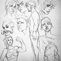 #art #sketch #ink #face