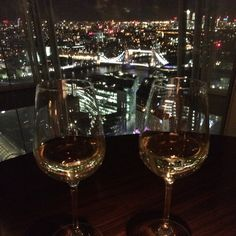 Lovely restaurant with the best view ever ❤️ #theshard #london