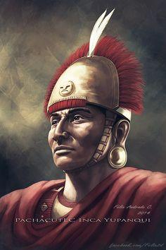 Pachacutec Inca Yupanqui by Xilfe on DeviantArt