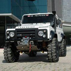 Land Rover Defender 110 Td4 Prepared to 4x4 adventure. So beast so nice.