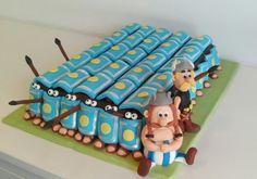 Motivtorte Asterix und Obelix