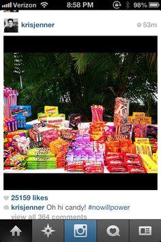 Candy bar idea