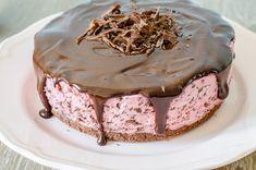 Cheesecake cu zmeură și ciocolată - Din secretele bucătăriei chinezești Cheesecake, Dessert Recipes, Foods, Cakes, Sweet, Beverage, Recipes, Food Food, Candy