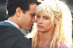 Tom Hanks and Daryl Hannah in Splash: Jungfrau am Haken (1984)