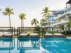 BungalowH2O Collection: Gansevoort's second hotel in the region (along with its Providenciales outpost) is a collection of 48 large suites. The contemporary, design-focused property, which is now open, is a welcome addition to the north coast of the Dominican Republic.