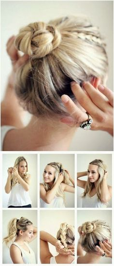 Top 5 Bun Updos for 2014 barefootstyling.com