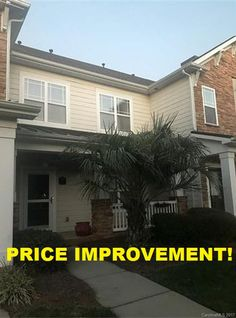 Price Improvement!! ⇊⇊⇊   #2304 #Bonterra #Boulevard #Indian #Trail, #North #Carolina 328079  $199,500  Call us to a schedule showing!  (704)209- SOLD Www.BuyorsellwithEricahomes.info!  Awesome home in an Awesome location with simply Awesome schools! Formal dining room, upgraded ceramic in the bathrooms, over-sized family room with fireplace and nook..the master suite features a separate tub and shower. Above the garage is extra storage. Don't miss this opportunity!