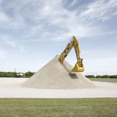 "I can dig it.  The Glue Society has unveiled its latest installation at the Sculpture by the Sea festival in Aarhus in Denmark. The piece, entitled ""It wasn't meant to end like this"", is a huge mechanical digger that seems to have buried itself under 300 tonnes of rubble..."