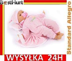 Interaktywna lalka BOBAS smoczek śpi ssie mówi 45