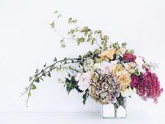 Auf der Mammilade|n-Seite des Lebens | Personal Lifestyle Blog | Blumenstrauß DIY | Blumengesteckt | Herbstblumen | Hortensien | Hopfen | Efeu | Fette Henne