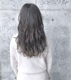 """【2018年保存版】""""アッシュグレー""""で透明感のある憧れヘアに♡の3枚目の画像   ARINE [アリネ] Hair Color, Hairstyle, Long Hair Styles, Outfits, Beauty, Hair Job, Haircolor, Hair Style, Suits"""