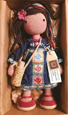 Watch This Video Incredible Crochet a Bear Ideas. Cutest Crochet a Bear Ideas. Crochet Amigurumi, Crochet Doll Pattern, Amigurumi Patterns, Amigurumi Doll, Doll Patterns, Crochet Patterns, Amigurumi Baba, Love Crochet, Crochet For Kids