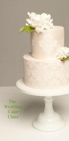 peony wedding cake. beautiful detailing
