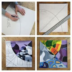joseph bertsch artist art educator education middle school West Bend Wisconsin projects project ideas art teacher teach drawing painting creative creativity technology examples rubric assessment PDSA SLO CCI
