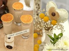 Shabby Chic Bridal Shower – Dessert Table — Celebrations at Home www.MadamPaloozaEmporium.com www.facebook.com/MadamPalooza