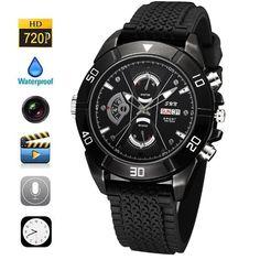 Safest W26 Ρολόι Χειρός Κρυφή Κάμερα HD - Night Vision Casio Watch, Watches, Accessories, Wristwatches, Clocks, Jewelry Accessories